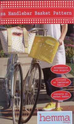 Ilsa Handlebar Basket Pattern   Hemma Design