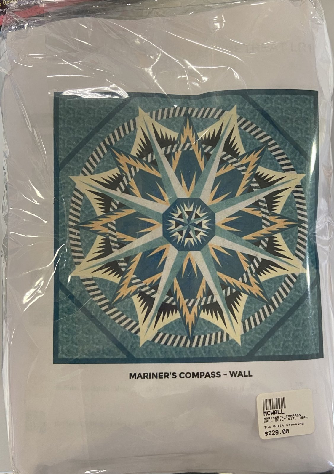 Mariner's Compass Wall Quilt Kit