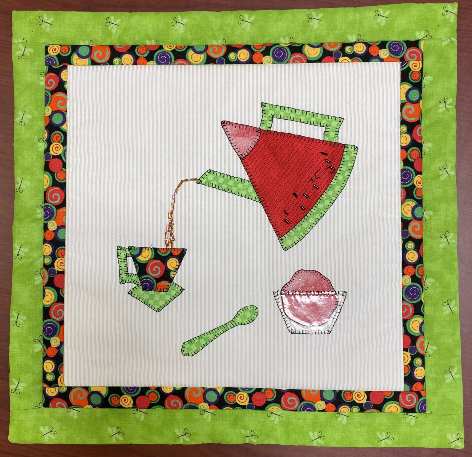 August Mini Teapot - Sincerely Sandy
