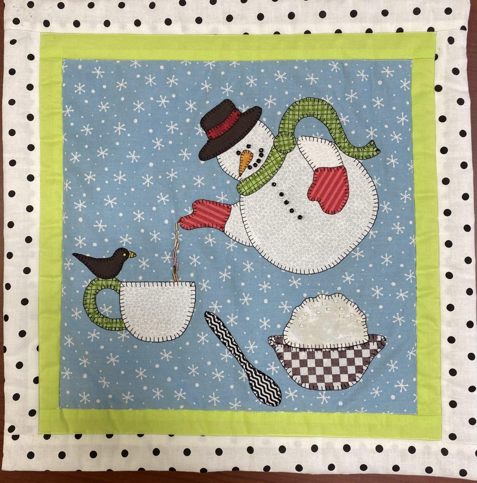January Mini Teapot - Sincerely Sandy