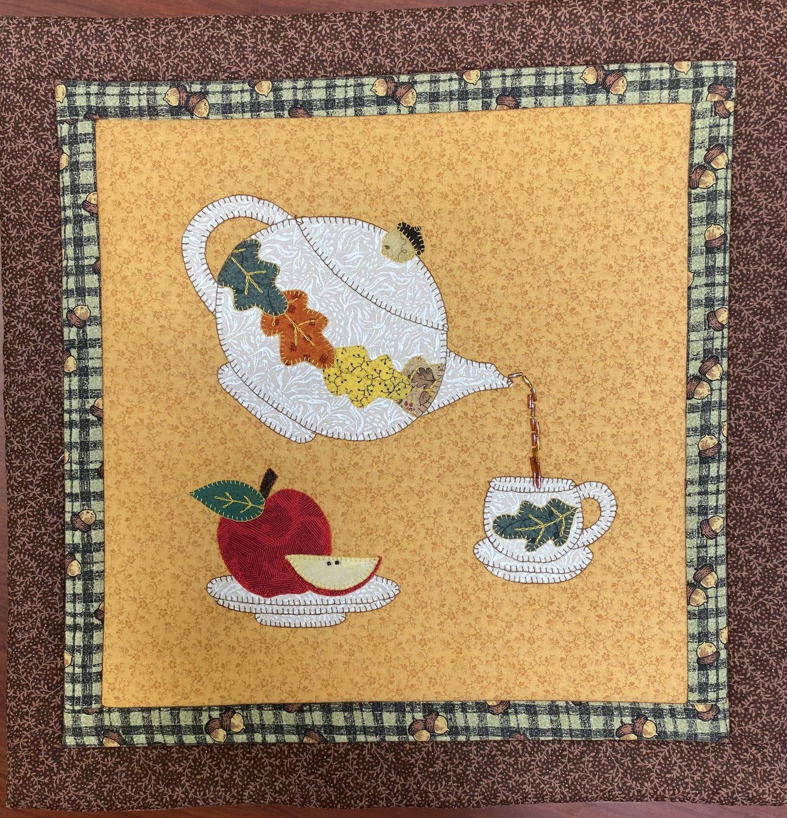 September Mini Teapot - Sincerely Sandy
