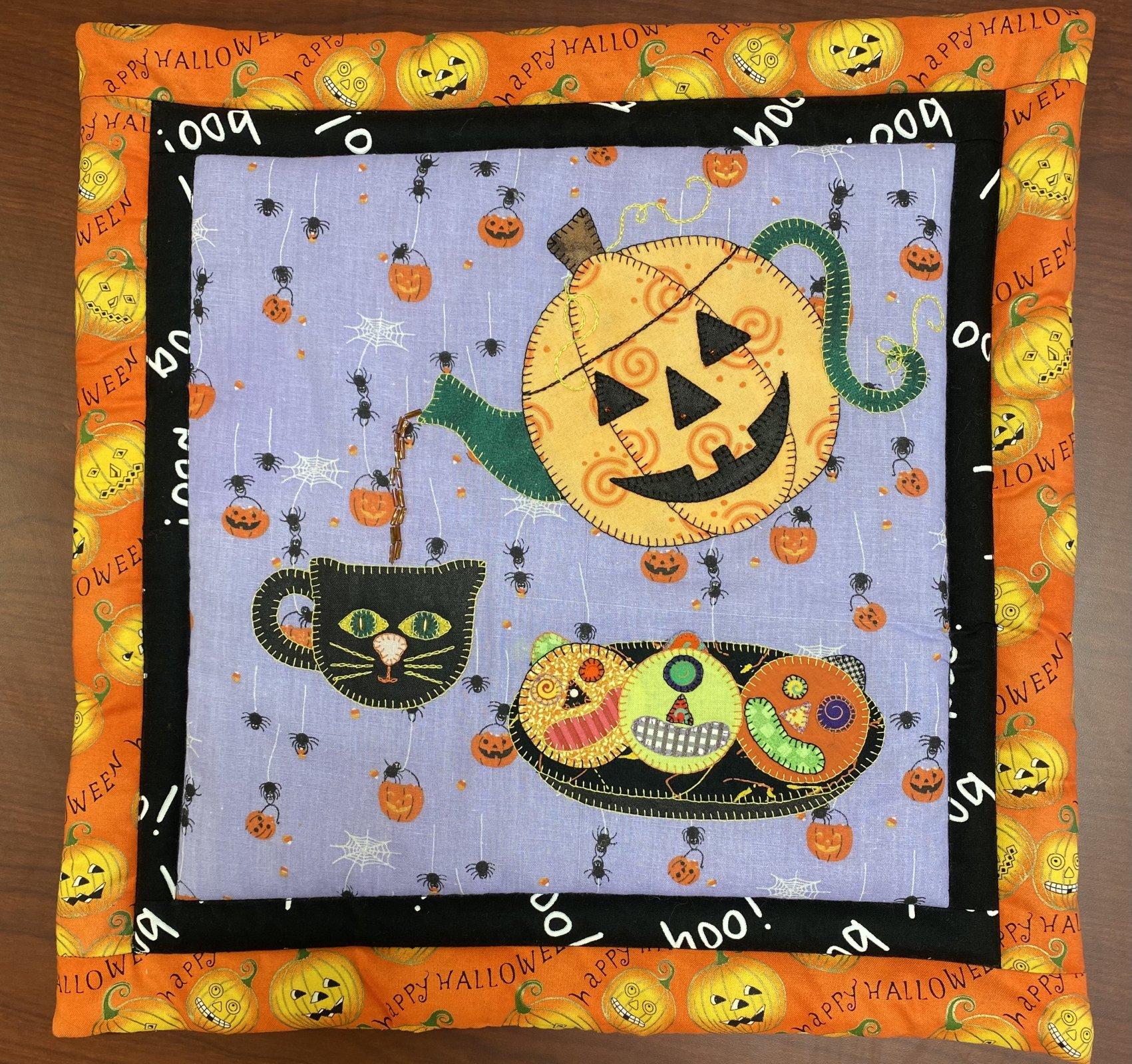 October Mini Teapot - Sincerely Sandy