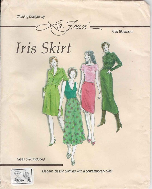 Iris Skirt (Design by La Fred - Fred Bloebaum)
