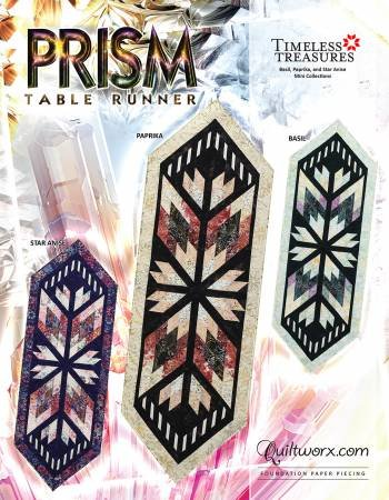 Prism Table Runner Pattern