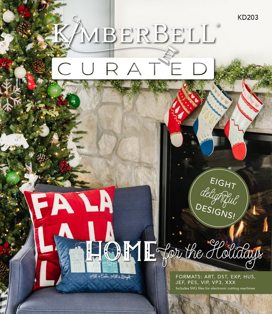 Kimberbell's Curated Home for the Holidays