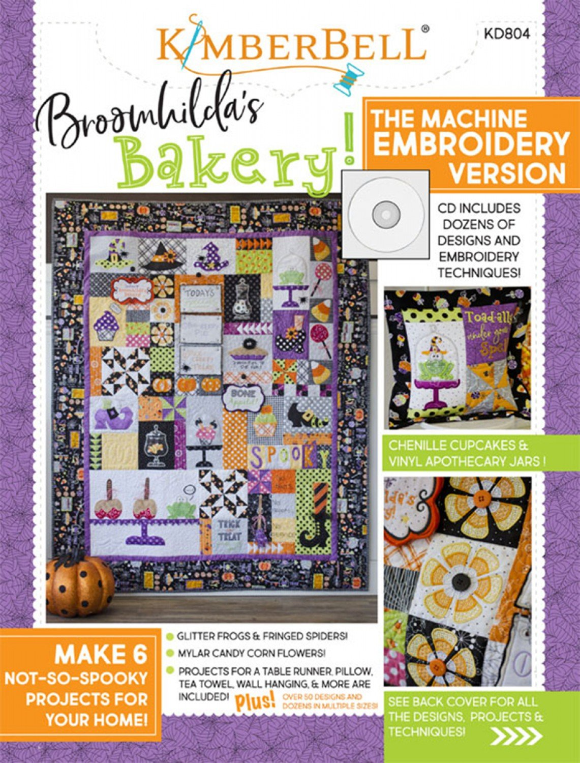Broomhilda's Bakery (Embroidery CD) by Kimberbell