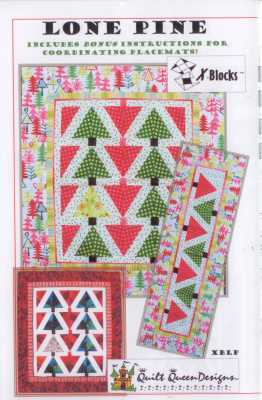 Lone Pine   Quilt Queen Designs