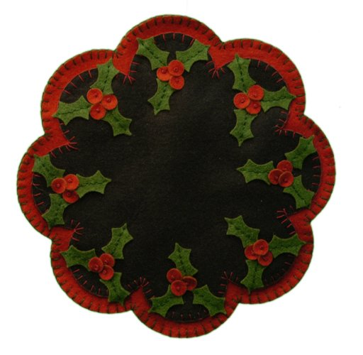 Christmas Holly Mat Kit <br> By Lumenaris