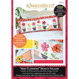 May Flowers Bench Pillow (CD) By Kimberbell