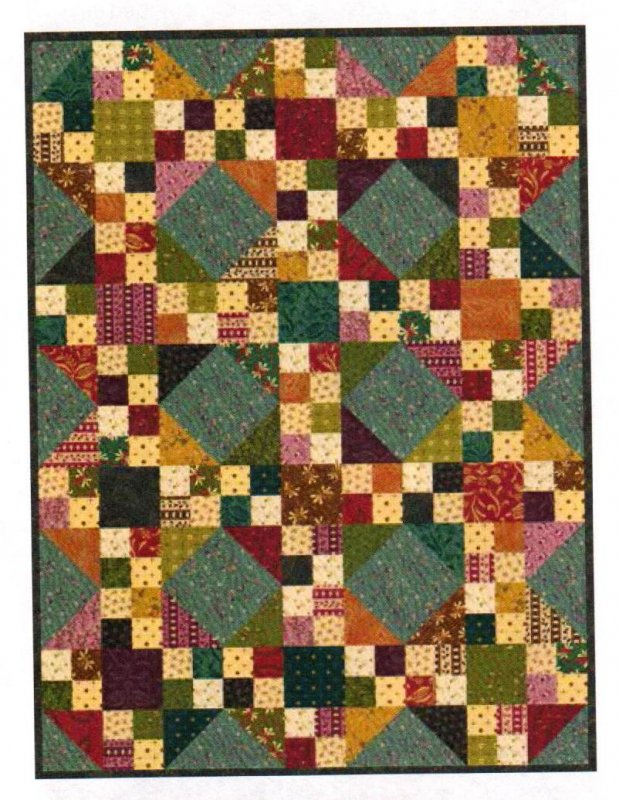 Meandering Quilt Kit (#2)<br> Designed by Kim Diehl