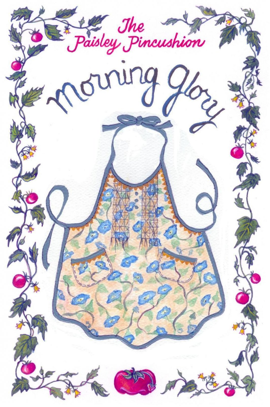 Morning Glory Apron