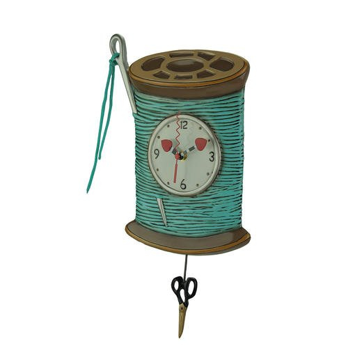 Needle & Thread Clock By Allen Designs -