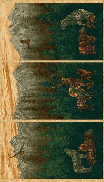 Stonehenge Gradations Flannel (F39307-68)