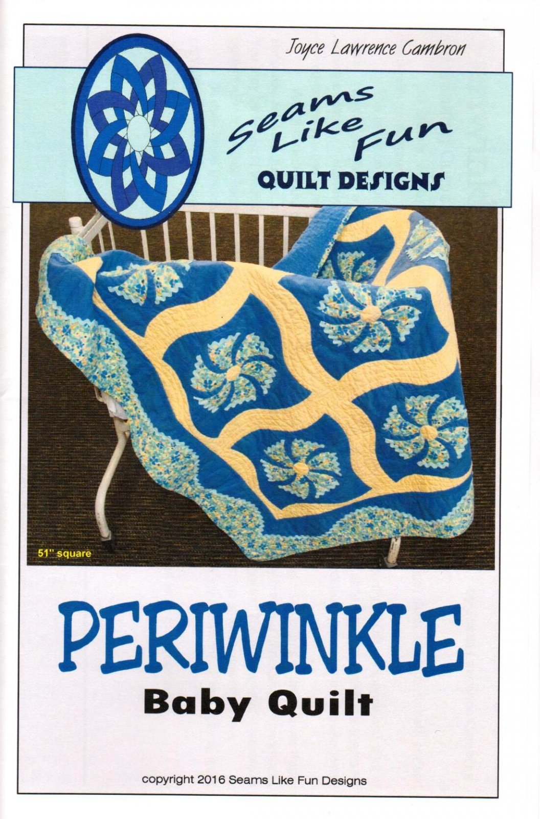 Periwinkle Baby Quilt