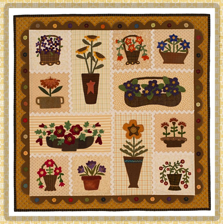 Petite Wool Garden <br> By Waltzing With Bears