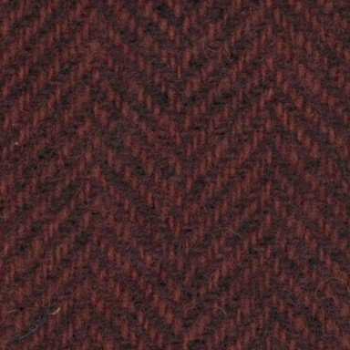 Primitive Gatherings Wool 1/4 Yd - Herringbone, Petunia