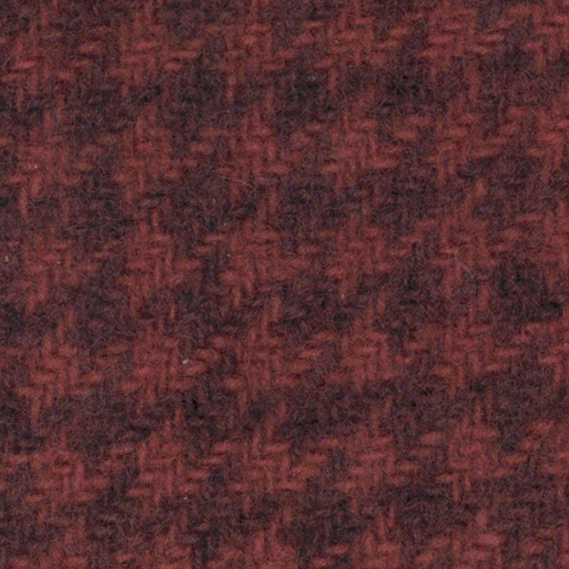 Primitive Gatherings Wool 1/4 Yd - Houndstooth, Petunia