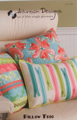 Pillow Trio   Atkinson Designs