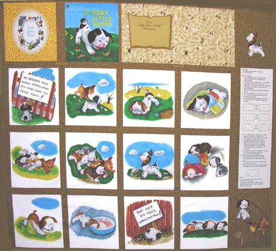Poky Little Puppy Book Panel