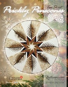 Prickly Pinecones Tree Skirt