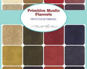 Primitive Muslin  Flannel Charm Pack