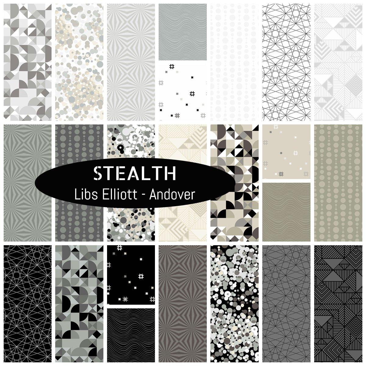 Stealth - Fat Quarter 24 Pack