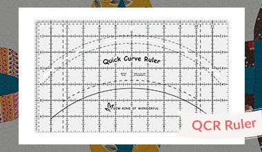 Quick Curve Ruler (Large) By Sew Kind of Wonderful