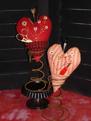 Queen of Hearts Pincushion