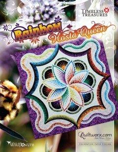 Rainbow Hosta Quilt