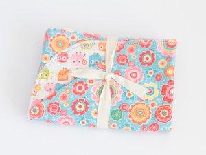 Hemstitched Blanket - Riley Blake Designs <br> Owl & Co