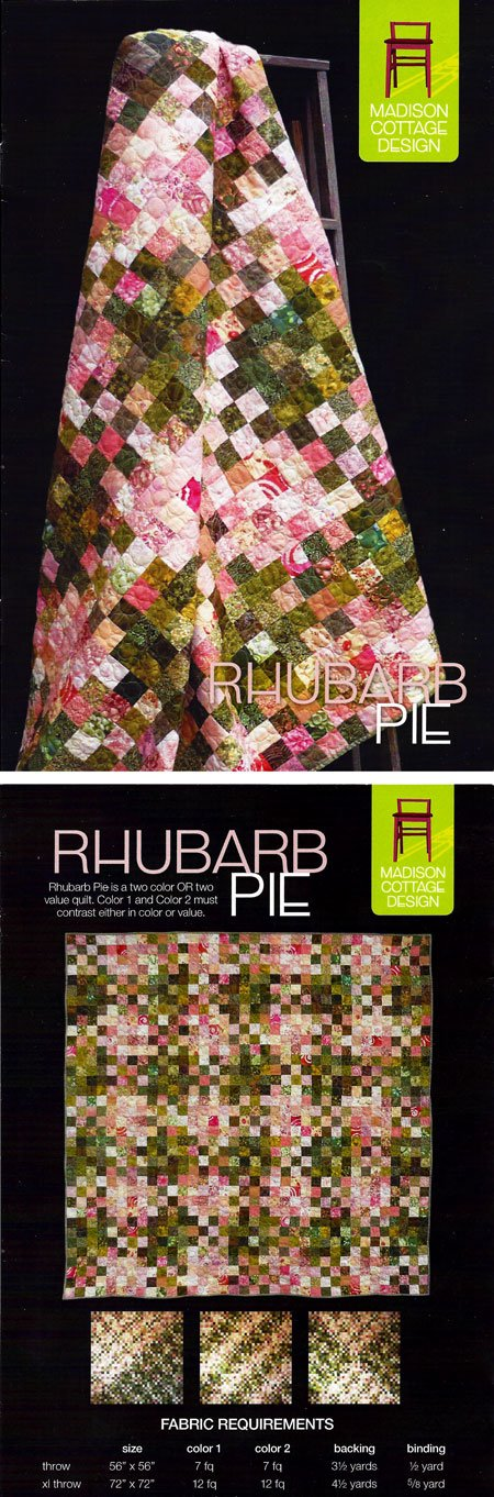 Rhubarb Pie by Madison Cotage Design