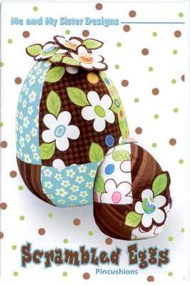 Scrambled Eggs Pincushions   Me & My Sister Designs