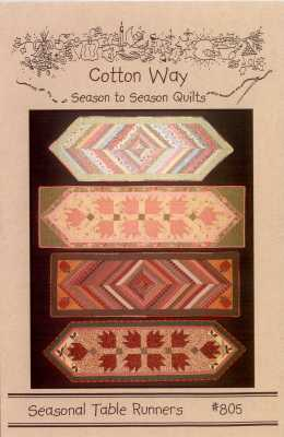 Seasonal Table Runners #805   By Cotton Way