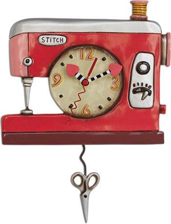 Double Stitch Clock by Allen Designs