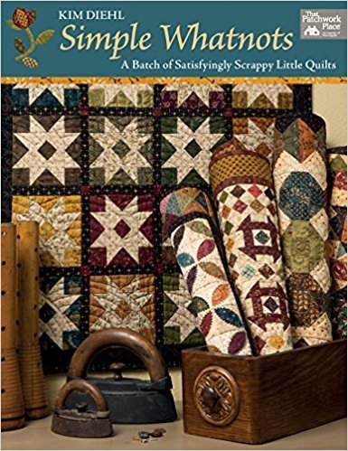 Simple Whatnots <br> A Batch of Satisfyingly Scrappy Little Quilts