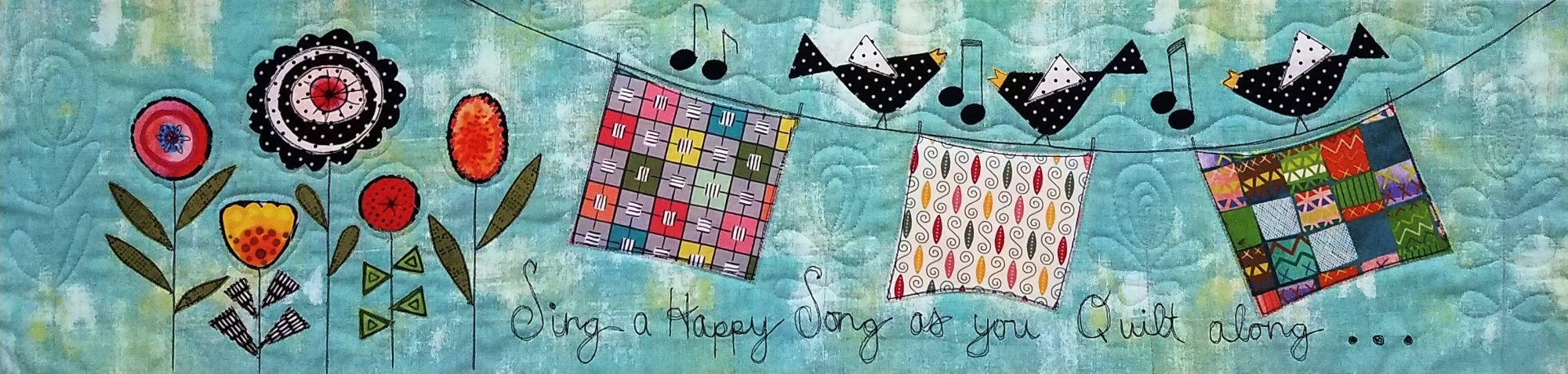 2018 Row By Row -Sing a Happy Song- Kit