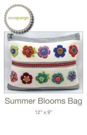 Summer Blooms Bag By Sue Spargo