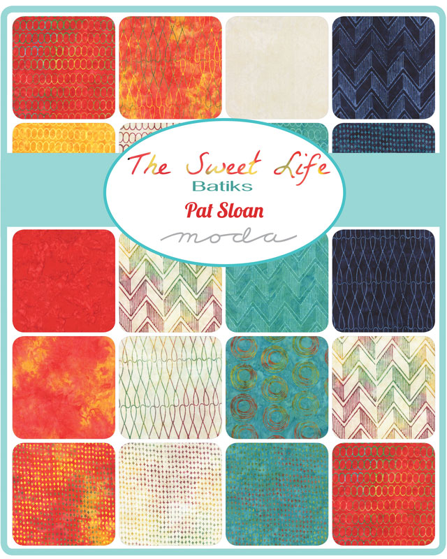 Sweet Life Batiks Jelly Roll