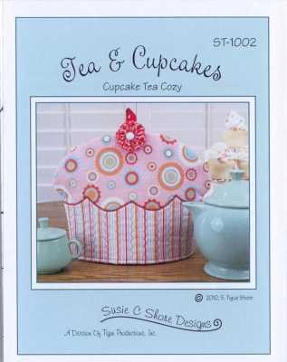 Tea and Cupcakes Tea Cozy   Susie C. Shore Designs