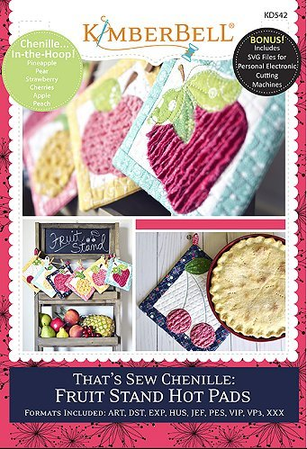 That's Sew Chenille:  Fruit Stand Hot Pads (CD) By Kimberbell