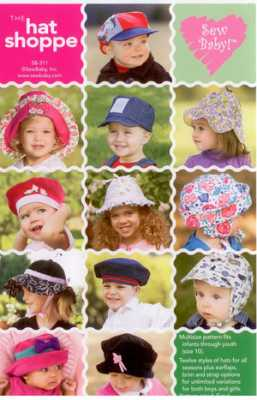 The Hat Shoppe   by SewBaby Inc.