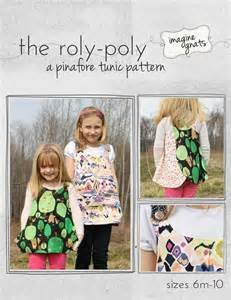 The Roly-Poly Pinafore Tunic Pattern