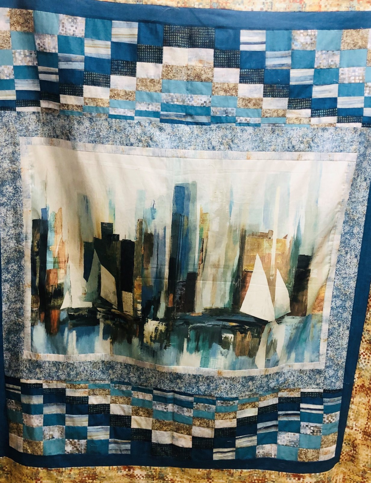 Reflection Harbor Fabric Kit