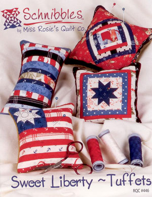 Sweet Liberty - Tuffets   by Miss Rosie's Quilt Co.