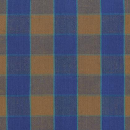 Kaffe Artisan Checkerboard Plaid-Blue
