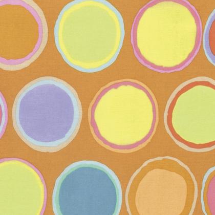Kaffe Artisan Paint Dots-Yellow