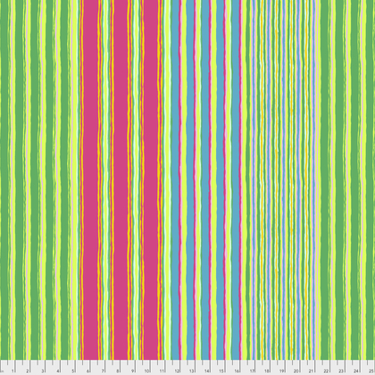 Fall 2017 Kaffe Fassett Regimental Stripe-Green (PWGP163.GREEN)