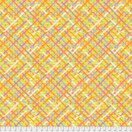 Fall 2017 Kaffe Fassett Mad Plaid - Gold (PWBM037.GOLDX)