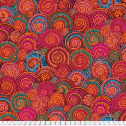 Fall 2017 Kaffe Fassett Spiral Shells - Orange