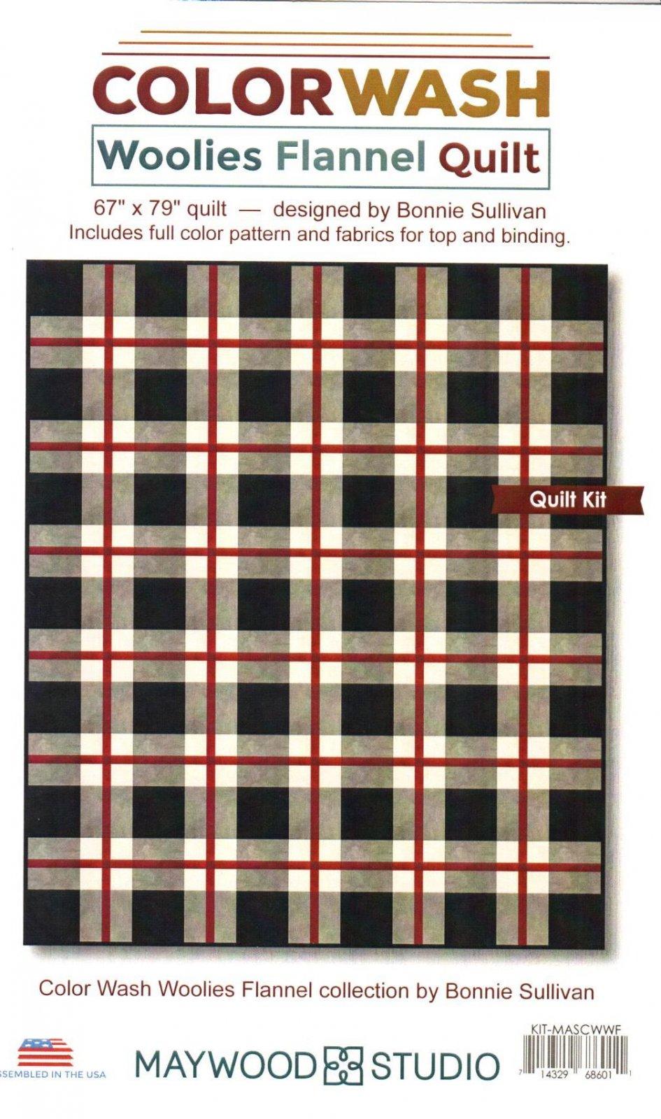 Colorwash - Woolies Flannel Quilt